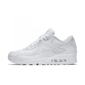 Nike Chaussure Air Max 90 Leather Homme - Blanc - Taille 49.5 - Male