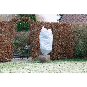 Nature Housse d'hivernage 50 g/m² Ø100 cm x 1,50m blanc