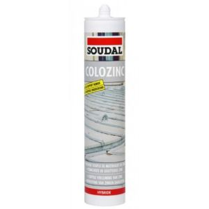 Soudal C/290ML MASTIC COLOZINC