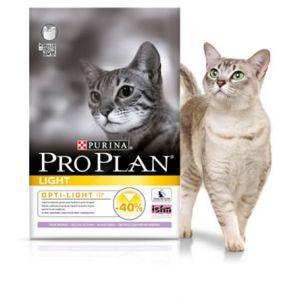Purina Pro Plan Cat Light dinde et riz sac de 3 kg - Croquettes pour chat