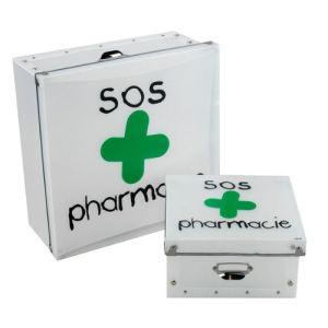 Boite rangement armoire comparer 332 offres - Boite a pharmacie mural ...