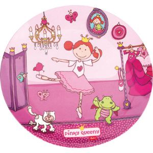 Sigikid 24263 - Assiette plate Pinky Queeny