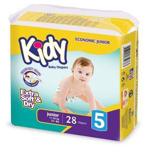 Kidy Couche junior taille 5 (11-25 kg) - paquet de 28