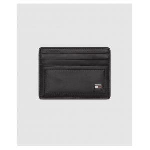 Tommy Hilfiger Porte-cartes Harry en cuir noir