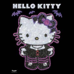 KSG Sequin art : Hello Kitty gothique