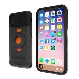 Tigra sport Coque iPhone X / XS Coque Protection Ultra-Léger Fixation FitClic Neo Tigra