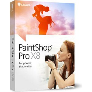 PaintShop Pro X8 pour Windows