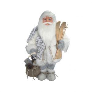 Père Noël porte ses skis 46 cm