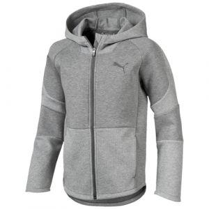1fedf3c565fb8 Puma Sweat à capuche Evostripe Full-zip Enfant gris