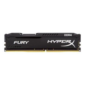 Kingston HX426C15FBK2/8 - Barrette mémoire HyperX Fury Noir 8 Go (2x 4Go) DDR4 2666 MHz CL15