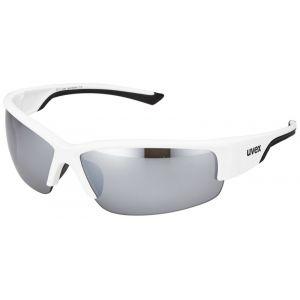 Uvex Sportstyle 215 Lunettes de soleil Blanc/Noir