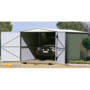 Treco Colorbond TRMGSC1019UT2SD - Garage en métal 18,05 m2