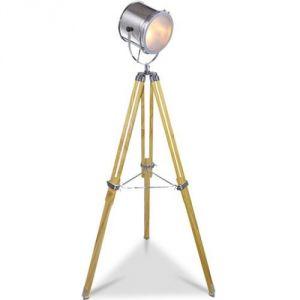 Lampadaire trépied projecteur à hauteur réglable