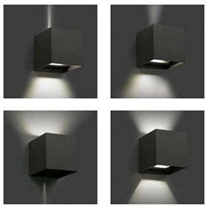 Faro 70637 Olan  - Applique extérieure led gris anthracite aluminium