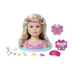 Zapf Creation Tête à coiffer poupée soeur de BABY born