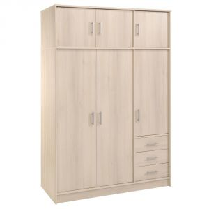 Swithome Infiny - Armoire 6 portes et 3 tiroirs