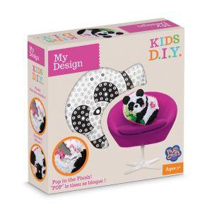 Orb factory My Design Coussin à décorer Panda Kids D.I.Y