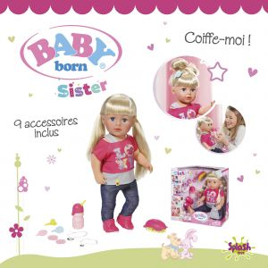 Splash Toys Poupon Baby Born Interactif - Sister
