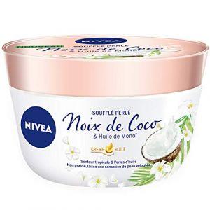 Nivea Soufflé Perlé Pot Noix de Coco/Huile de Monoï 200 ml