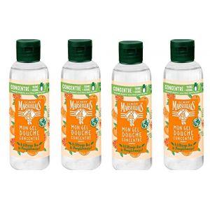 Le Petit Marseillais Mon gel douche concentré - Orange bio & pamplemousse