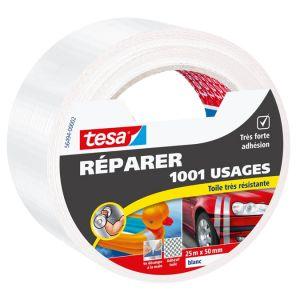 Tesa Ruban de réparation universel blanc