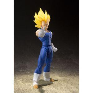Bandai Majin Vegeta Figurine 15.5 cm Dragon Ball Z S.H. Figuarts, Multicolore (Tamashii Nations bdidb087458)