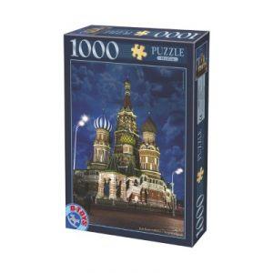 Dtoys Cathédrale Saint Basile de Moscou : Russie - Puzzle 1000 pièces