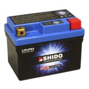 Shido Batterie Lithium LTX7L-BS