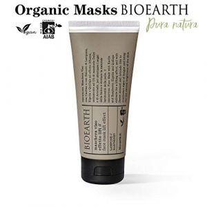 Bioearth Masque Visage Effet Lifting à la Framboise - 100 ml