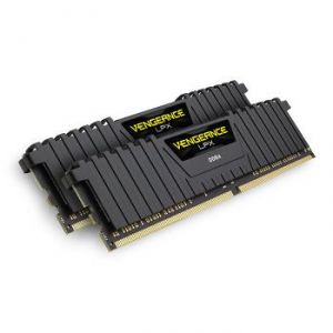Corsair CMK32GX4M2A2666C16 - Barrette mémoire Vengeance LPX Series Low Profile 32 Go (2x 16 Go) DDR4 2666 MHz CL16
