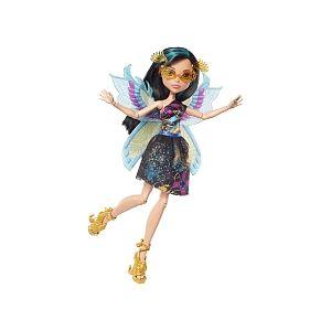 Mattel Poupée Monster High Jardin Créature Volante Cléo de Nile