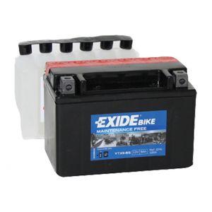 Exide Bike Batterie YTX9-BS - 12V - 8Ah - DIN 508 19 - 150mm*87mm*105mm - M12 Pol