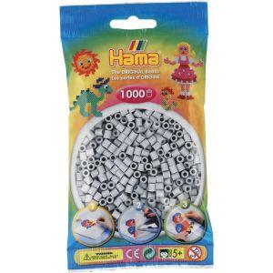 Sachet De 1000 Perles Hama Midi : Gris Clair