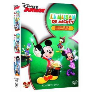 Coffret La Maison de Mickey - Volume 3 : La fanfare de Mickey + Le train express + Indices, surprises et friandises