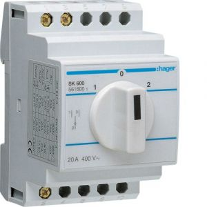 Hager INVERSEUR BIPOLAIRE 2 CONTACTS