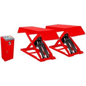 Mw-tools Pont élévateur à ciseaux 3T hauteur de levage 960 mm 220V SL300M