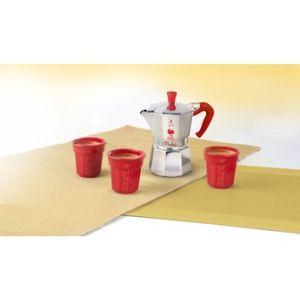 Bialetti Moka Express - Set cafetière italienne avec 3 tasses