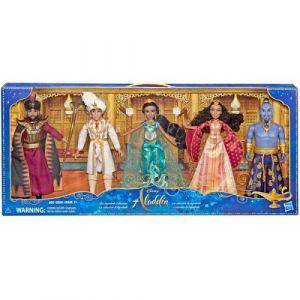Coffret de 5 poupees Aladdin