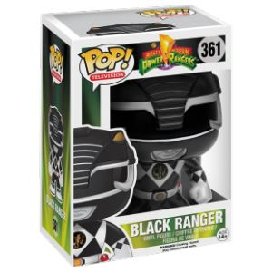 Funko Figurine Pop! Mighty Morphin : Power Rangers Black Ranger