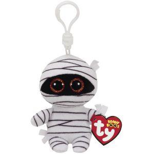 Ty Porte-clés peluche Mummy la Momie Beanie Boo's 8,5 cm