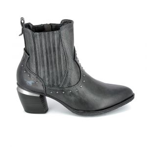 Mustang Bottines 1334502-259 Gris - Taille 36,37,38,39,40