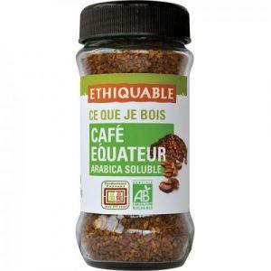 Ethiquable Café soluble Equateur BIO 85g