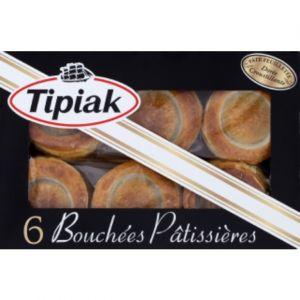 Tipiak Bouchées pâtissières à garnir - La boîte de 6, 150g