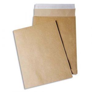 Gpv 4978 - Sac à soufflet Pack'n Post 280x400x30, 120 g/m², coloris brun - paquet de 50