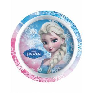 Assiette en plastique La Reine des Neiges