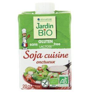 Jardin Bio Soja cuisine onctueux sans gluten