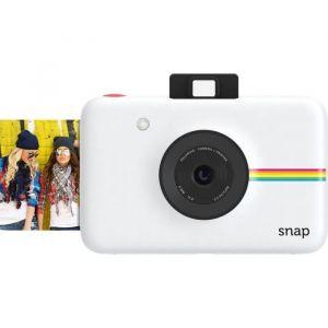 Polaroid Pack Snap Numérique Instantané Blanc + 10 Feuilles