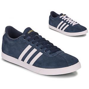 Adidas Baskets basses COURTSET NAVY multicolor - Taille 36,38,39,41