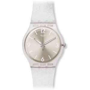 Swatch Mirrormellow - Montre mixte avec bracelet en silicone