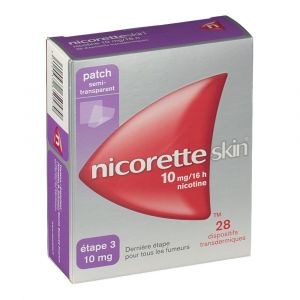 Johnson & Johnson Nicorette Skin patch 10 mg boite de 28